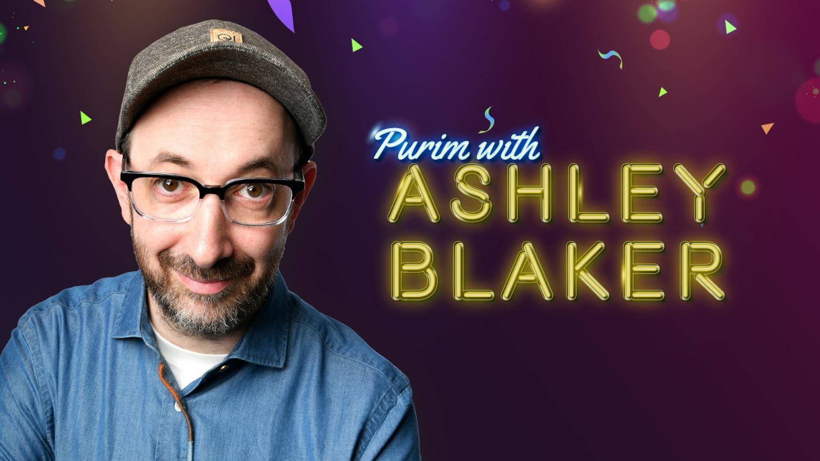 Purim with Ashley Blaker